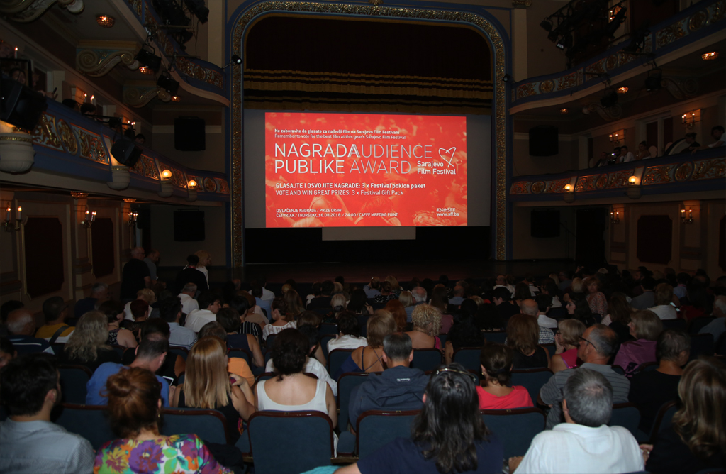 Screening of Ága, Winner of the Heart of Sarajevo for the Best Feature Film, National Theatre, 24th Sarajevo Film Festival, 2018 (C) Obala Art Centar