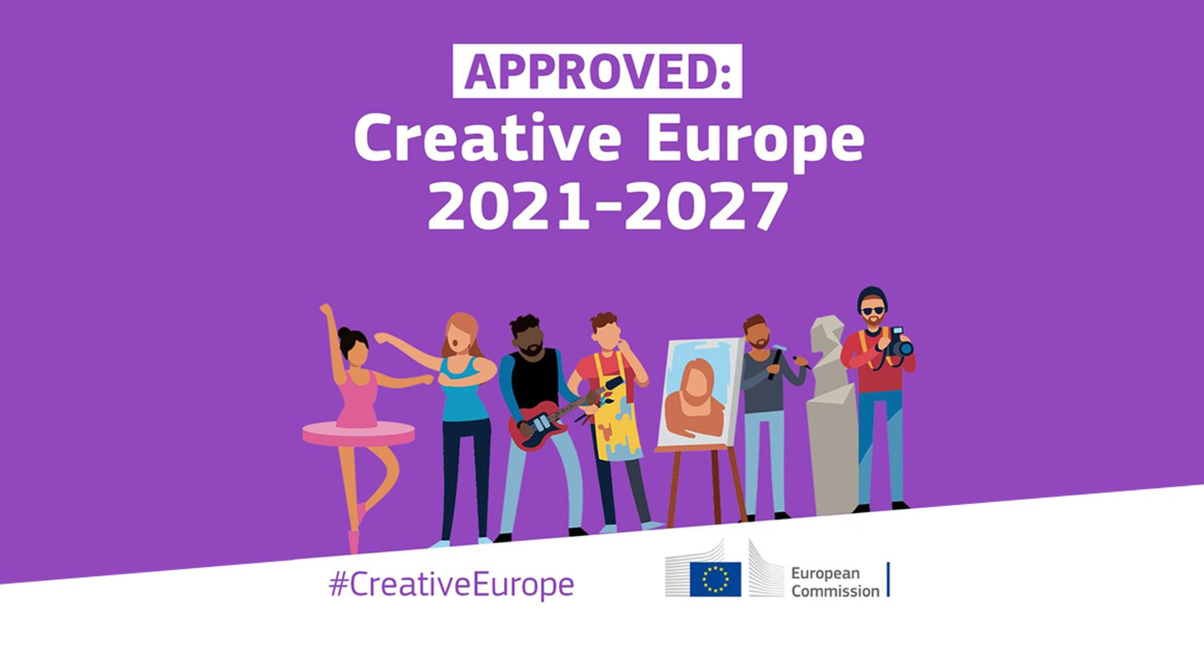 Official Presentation of Creative Europe 2021 – 2027 Program is Coming Soon