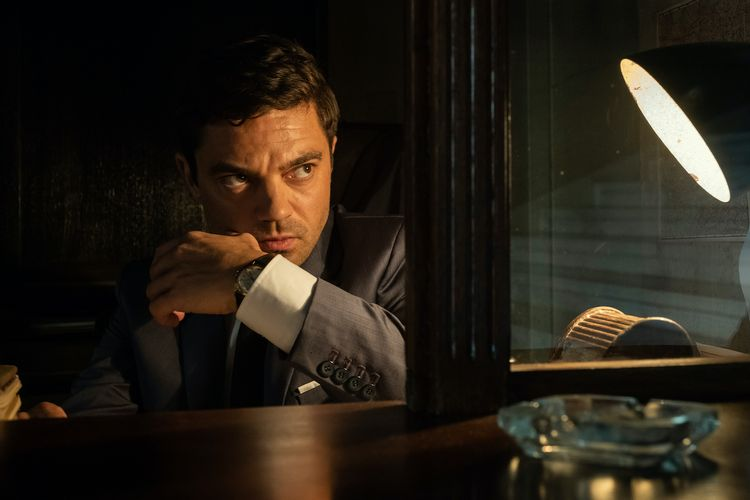 Take a Look at Dominic Cooper as a British Spy in the Series Spy City