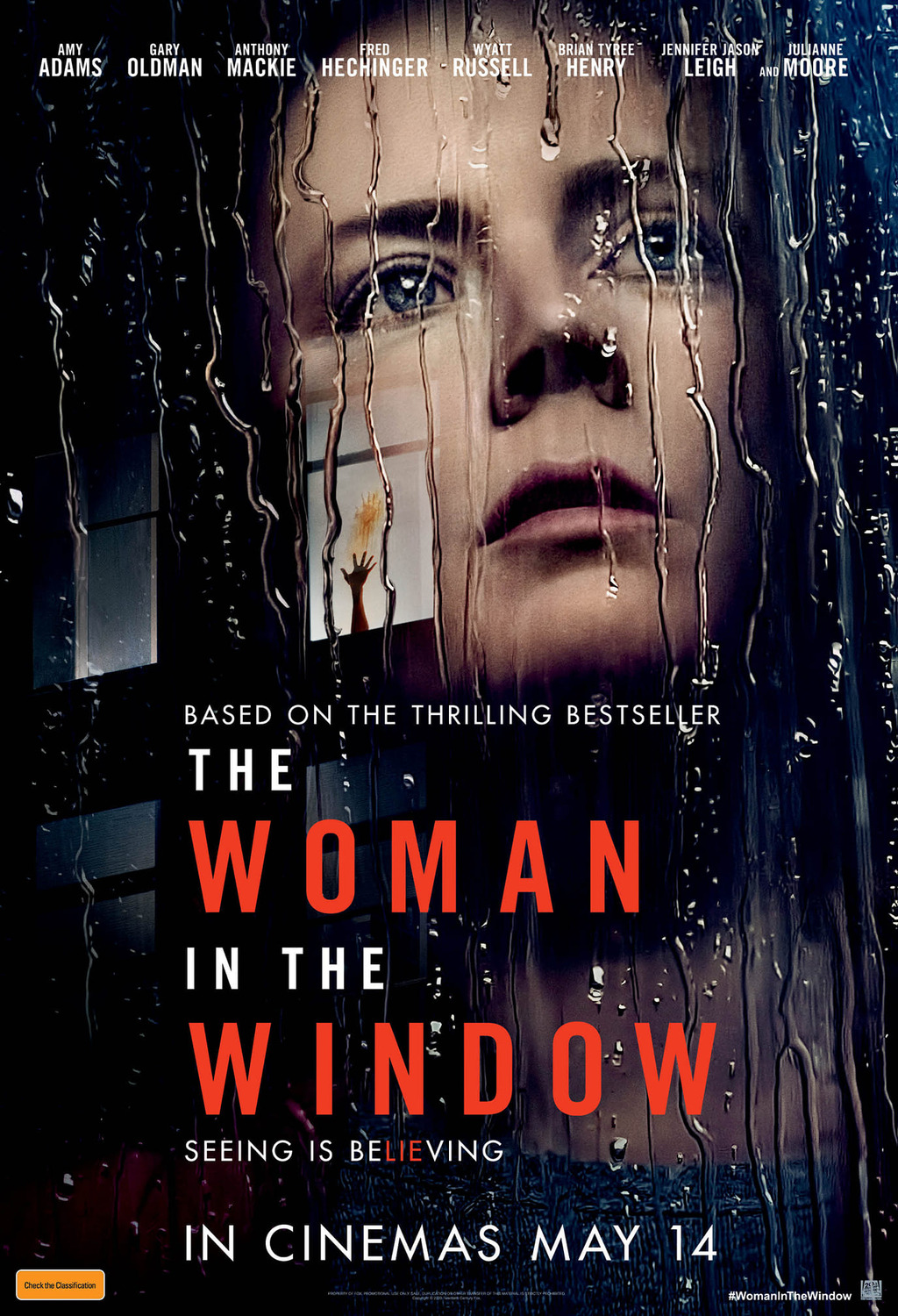 Trailer for The Woman in the Window with Amy Adams, Julianne Moore and Gary Oldman