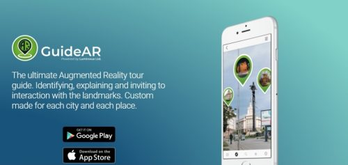 Mobile App GuideAR Presents the Tourist Attractions of Sofia