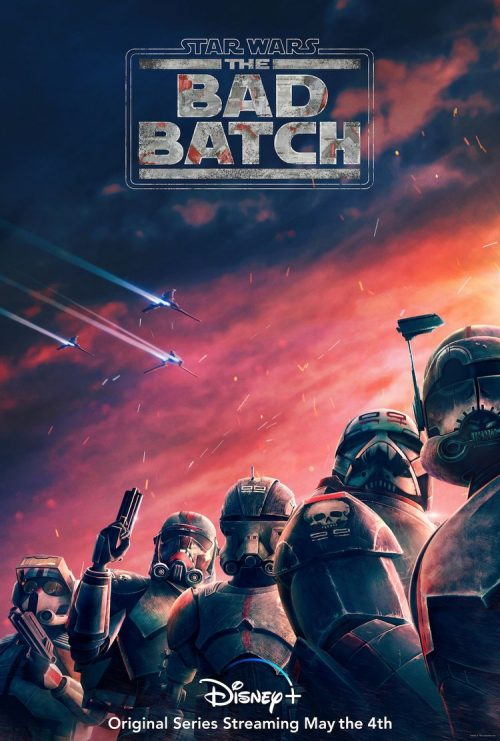 Trailer and Poster for the New Animated Series Star Wars: The Bad Batch