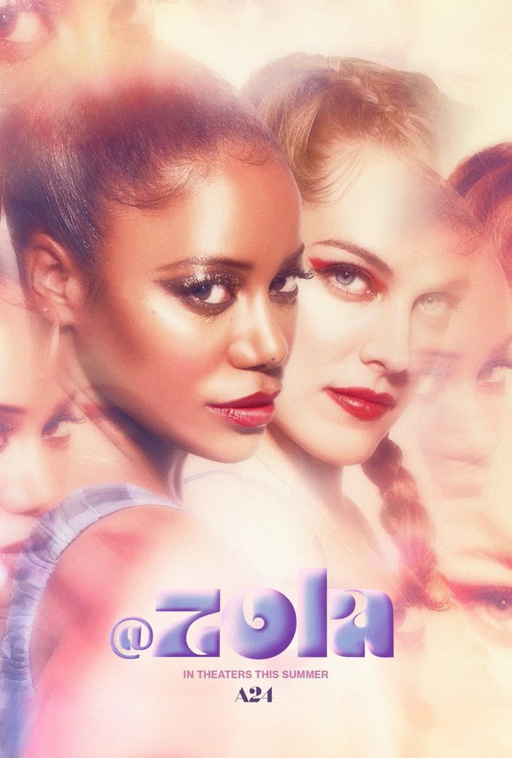 Trailer for Zola by Janicza Bravo with Taylour Paige and Riley Keough