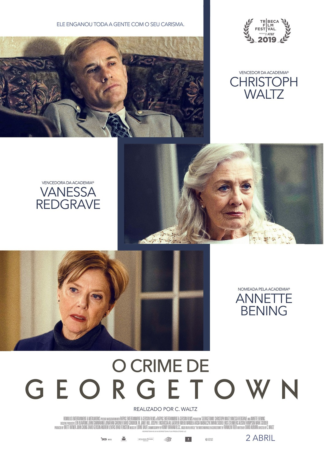 Trailer for Christoph Waltz's Directorial Debut Georgetown