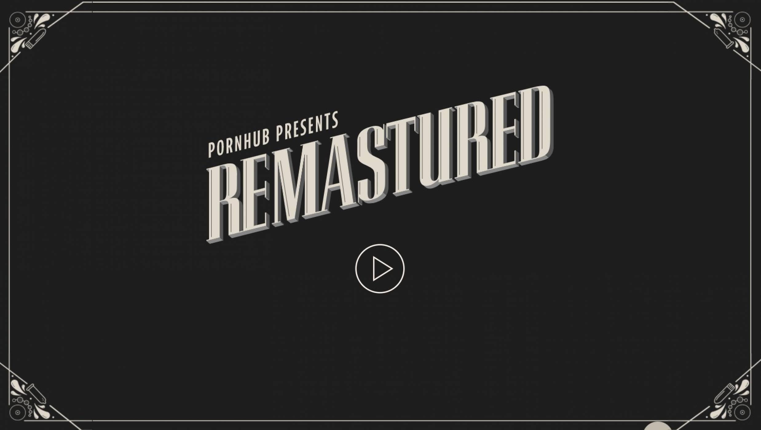 Pornhub Remasters Vintage Porno Films with Artificial Intelligence
