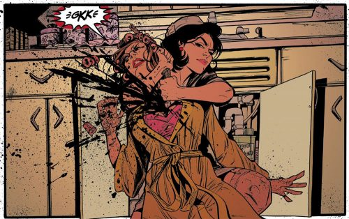 Blake Lively in the Comic Book Adaptation of Lady Killer, Written by Diablo Cody