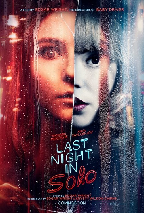 First Trailer for Edgar Wright's Last Night in Soho with Anya Taylor-Joy and Thomasin Mackenzie