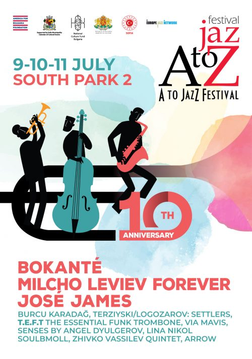 The 10th Edition of the Music Festival A to JazZ Festival in Sofia