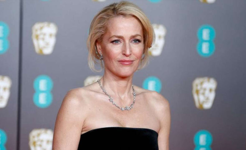 Gillian Anderson as Catherine the Great's Mother in the Second Season of The Great