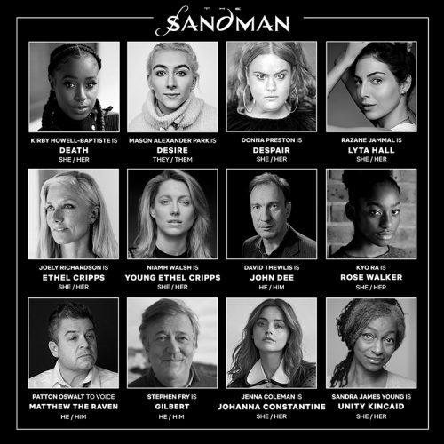 The Full Cast for Neil Gaiman's Sandman has Become Clear