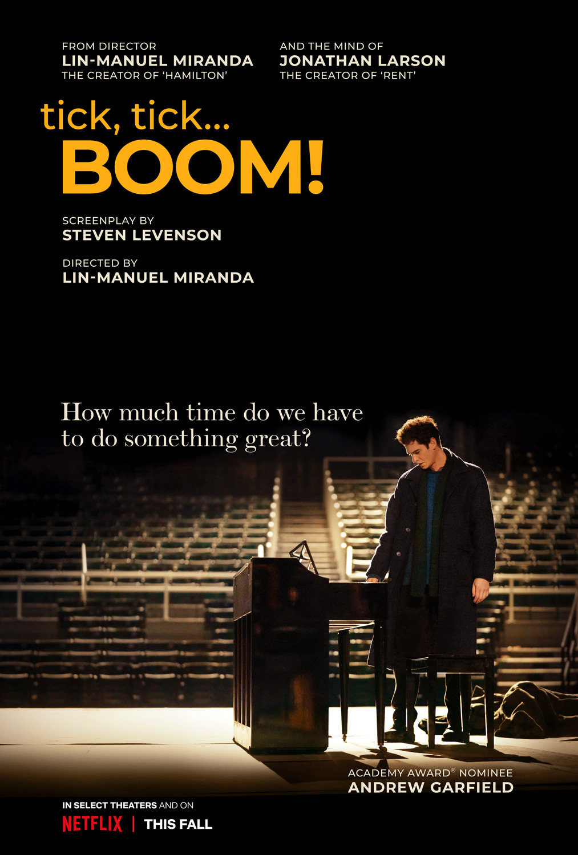 """Lin-Manuel Miranda's directorial debut trailer """"Tick, Tick… Boom!"""" With Andrew Garfield"""