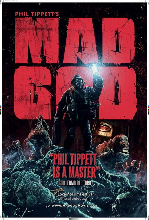 Trailer of Phil Tippett's Long-standing Stop-motion Project Mad God