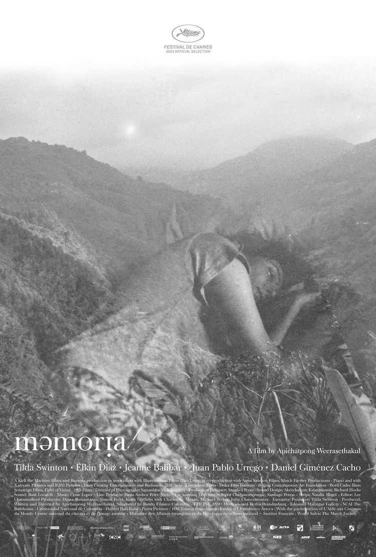 Apichatpong Weerasethakul's Memoria Trailer with Tilda Swinton